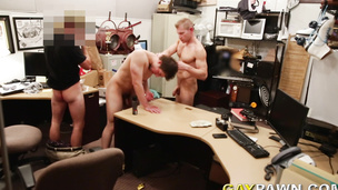 Broke skinny straight guy gets drilled hard for some cash