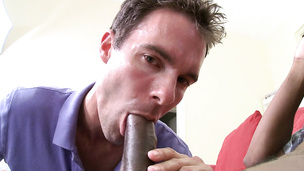 He loves a big black dick more than anything else