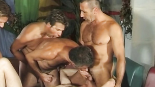 Emilio fucks his bottom lover Andre like he never did