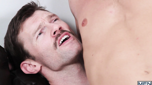Dennis West loves fucking with his hung lover Scott Riley