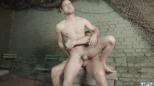 Robbie Rojo and Theo Ford fuck like two wild dogs