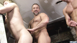 Dirk Caber, Jarec Wentworth and Tom Faulk have steamy threesome