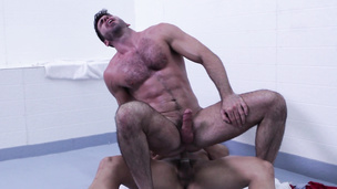 Billy Santoro and Topher Di Maggio are watching that ass