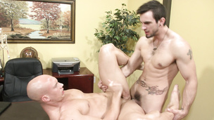 Explosive ass fucking session with John Magnum and Phenix Saint