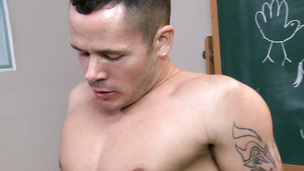 Salacious ass fuck with desirable Tyler Saint and Valentin Petrov