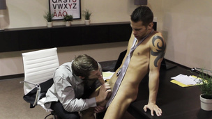 Colby Keller and Shane Frost have a dick riding session