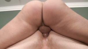 Colby Keller's muscly ass is welcoming of Brenden's hard dick