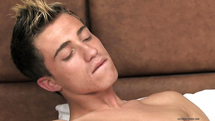 Intriguing blonde twink wants nothing more than the best blowjob ever